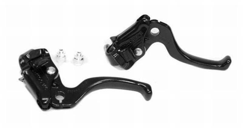 New Dia-Compe MX122 Brake Lever Set Old School BMX Brake Levers Black