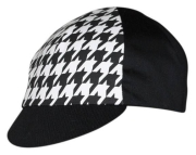 Pace Hounds Tooth Cycling Cap - schwarz / weiss
